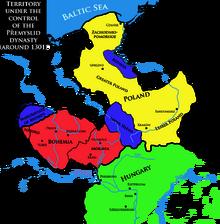 Bohemia in 1301