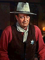 John Wayne portrait-1-