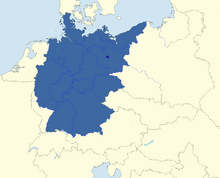 Map of New Germany