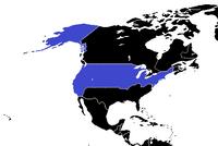 North America Political CDM USA Colored