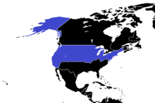 North America Political CDM USA Colored