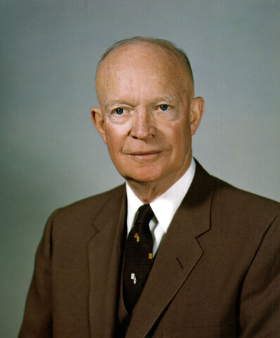 File:Dwight D Eisenhower, White House photo portrait.jpg