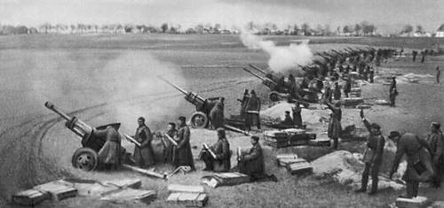 File:Soviet artillery firing on berlin april 1945.jpg