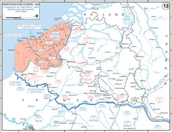 21May-6June Battle of Belgium