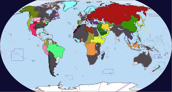 Diversa Pars Map Game 1934 Map 2
