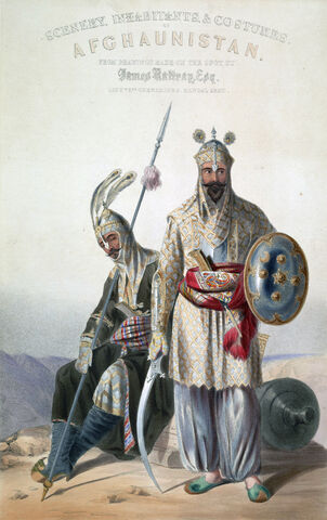 File:Afghan royal soldiers of the Durrani Empire.jpg
