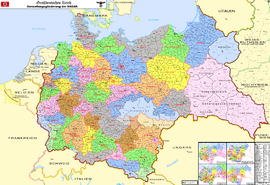 Map of the Greater German Reich