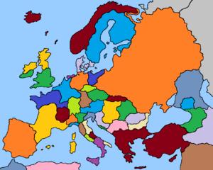 Europe 1700 (Fidem Pacis)