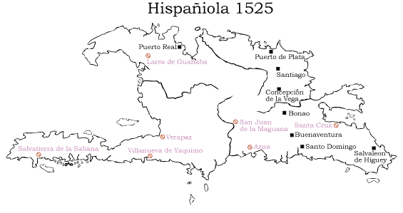 Snapshot Of The Spanish Main 1525 Papatlaca