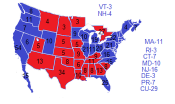 2008 Election NW