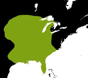 Extent of Mississippian Culture, 1400