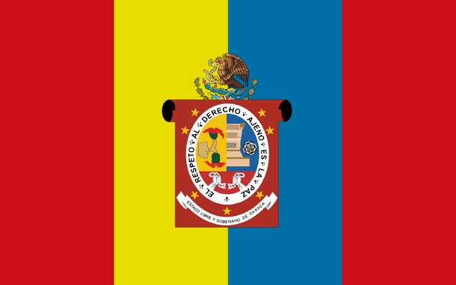 File:Flag of Oaxaca.png