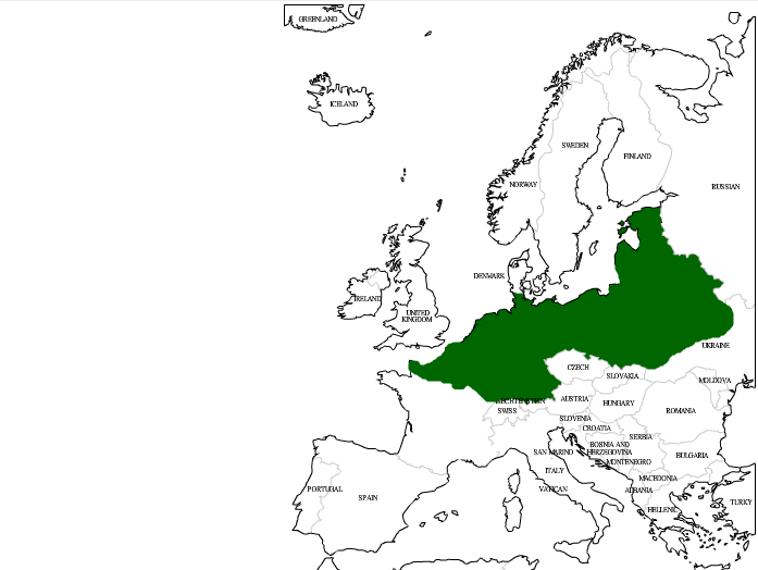 German Empire German Empire's Mainland