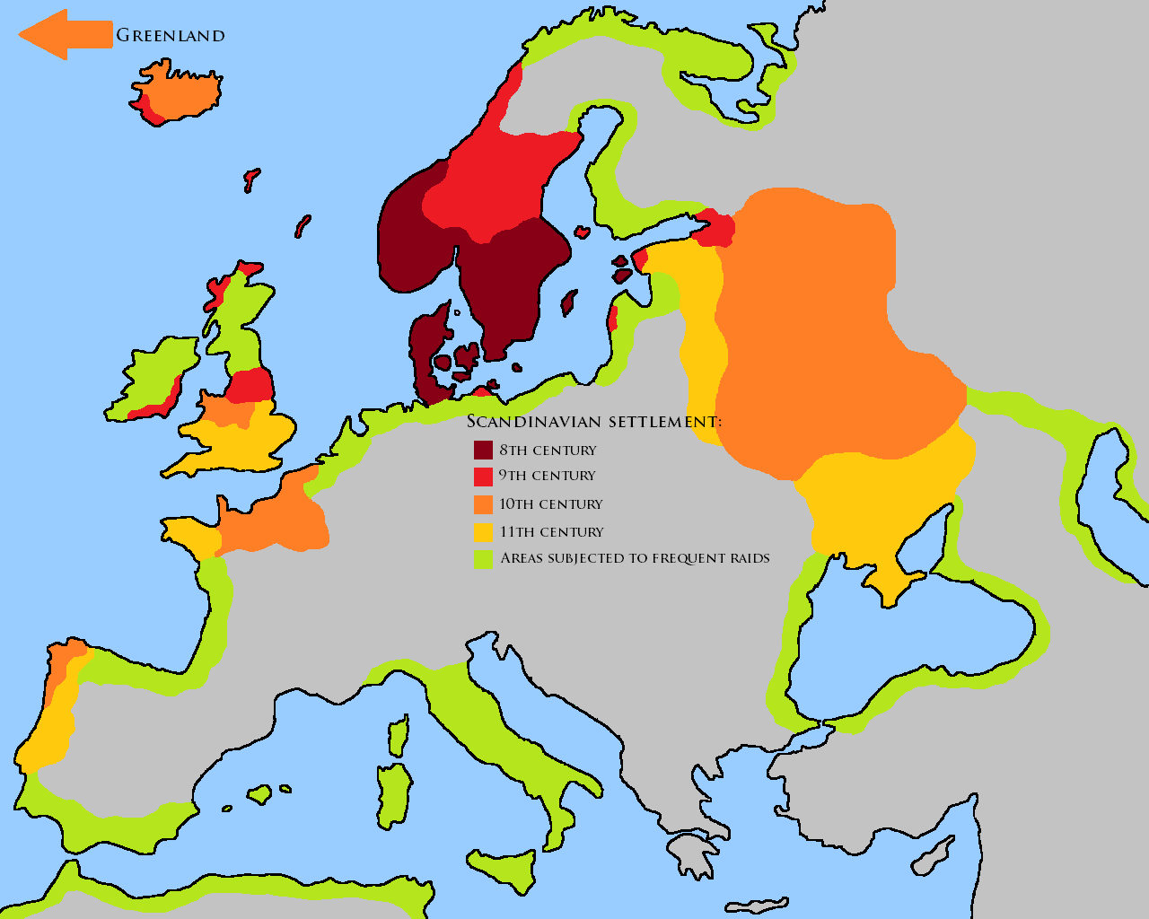 vikings and the westward expansion The vikings: raiders or settlers  the vikings ventured from their scandinavian  the scandinavian world was already expanding eastward and westward by the.
