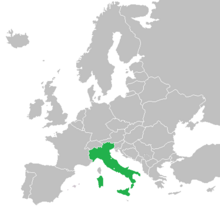 Location of Italy (The Big Mistake)