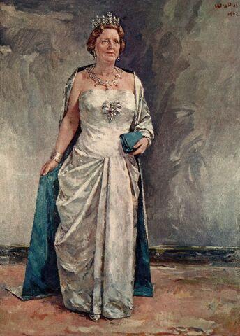 File:Staatsieportret Koningin Juliana voor gemeente Best.jpg