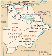 HCW 1997.Botswana map3