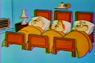 The Chipmunks' Room in The Alvin Show