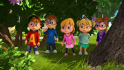 Chipmunks and Chipettes in Don Juan Theodoro