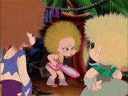 The Chipettes with Fluffy Hair
