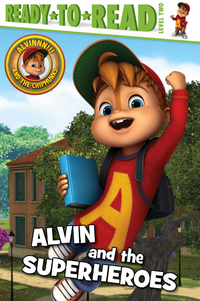 Alvin and the Superheroes Front Cover