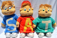 Liked have alvin and the chipmunks plush toys at target