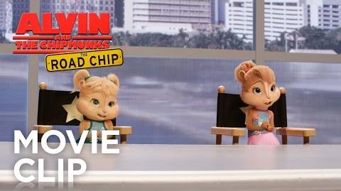 """Alvin and the Chipmunks The Road Chip """"You're Going to Hollywood"""" Clip HD 20th Century Fox"""