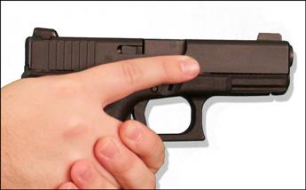Gun Control Means Finger Discipline - Gun Shots  Trigger Control Meme
