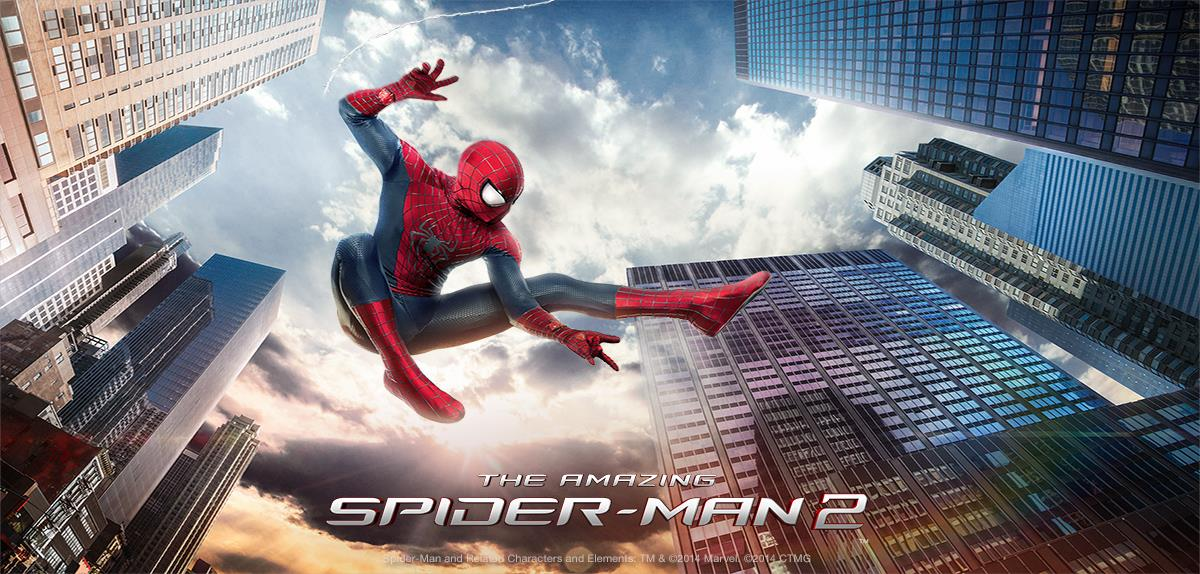 the amazing spider man 2 poster wallpaper