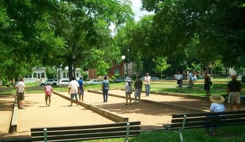 American petanque players