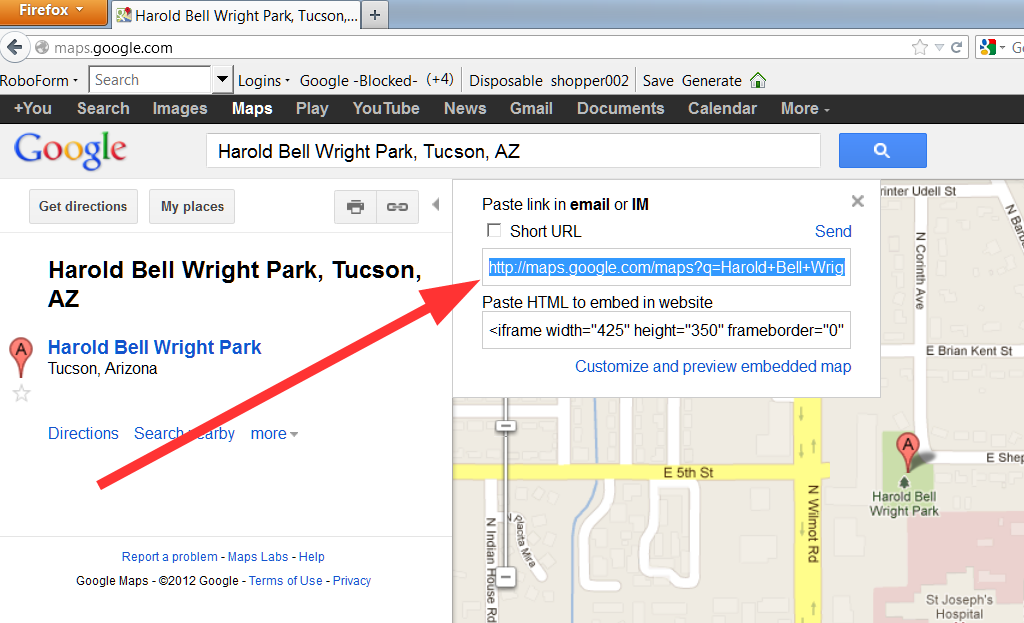 How to use google maps 03