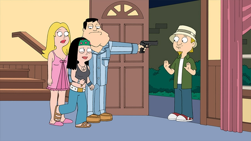Image result for american dad holy s... jeff's back