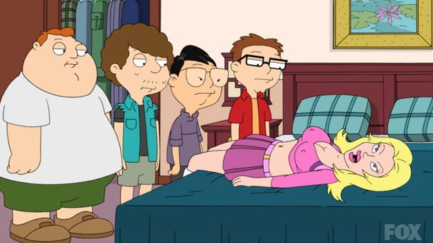 All clear, American dad sex doll not give