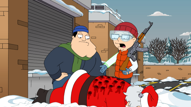 Image result for american dad for whom the sleigh bell tolls