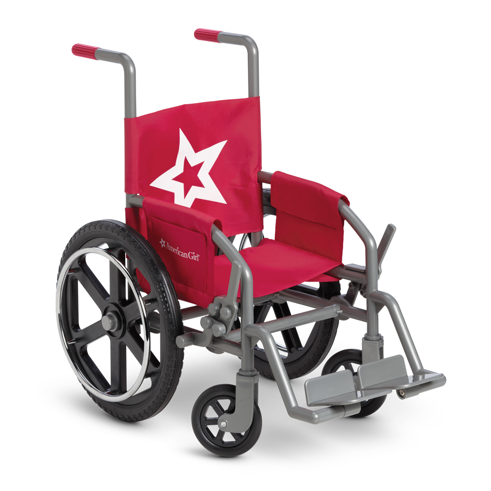 Berry Wheelchair For Dolls