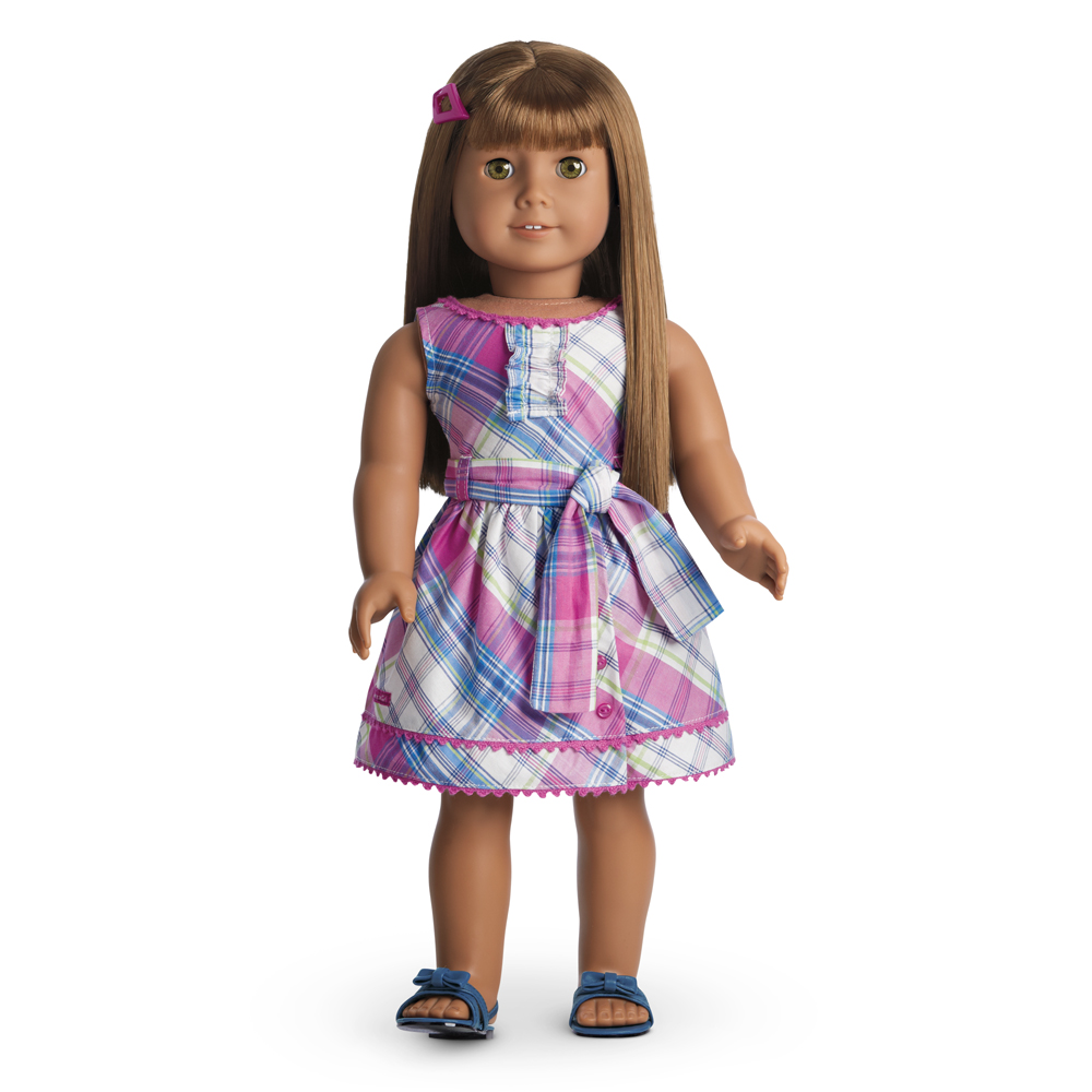 Plaid Party Dress | American Girl Wiki | FANDOM powered by Wikia