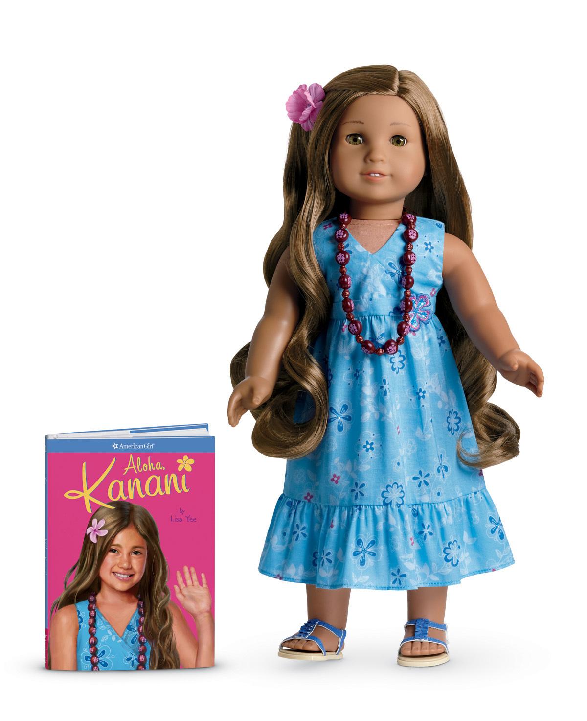 Kanani Akina (doll) | American Girl Wiki | FANDOM powered ...  Kanani Akina (d...