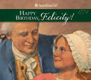 Happy Birthday, Felicity!
