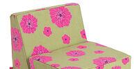 Floral Flip Chair
