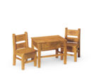 New Mexican Table and Chairs