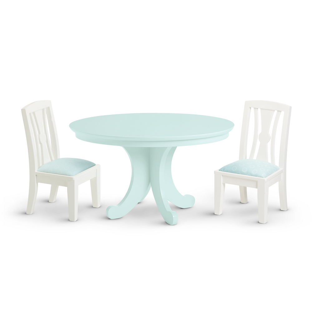 Dining Table and Chairs I American Girl Wiki – Girls Table and Chair