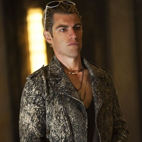 Max Greenfield in the role of Gabriel