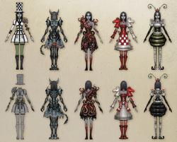 DLC dresses