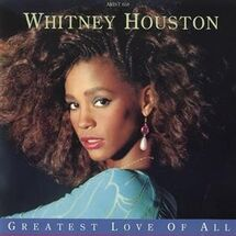 Whitney Houston Greatest Love Of All cover