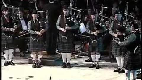 Duncan McCall Pipe Band Little Drummer Boy