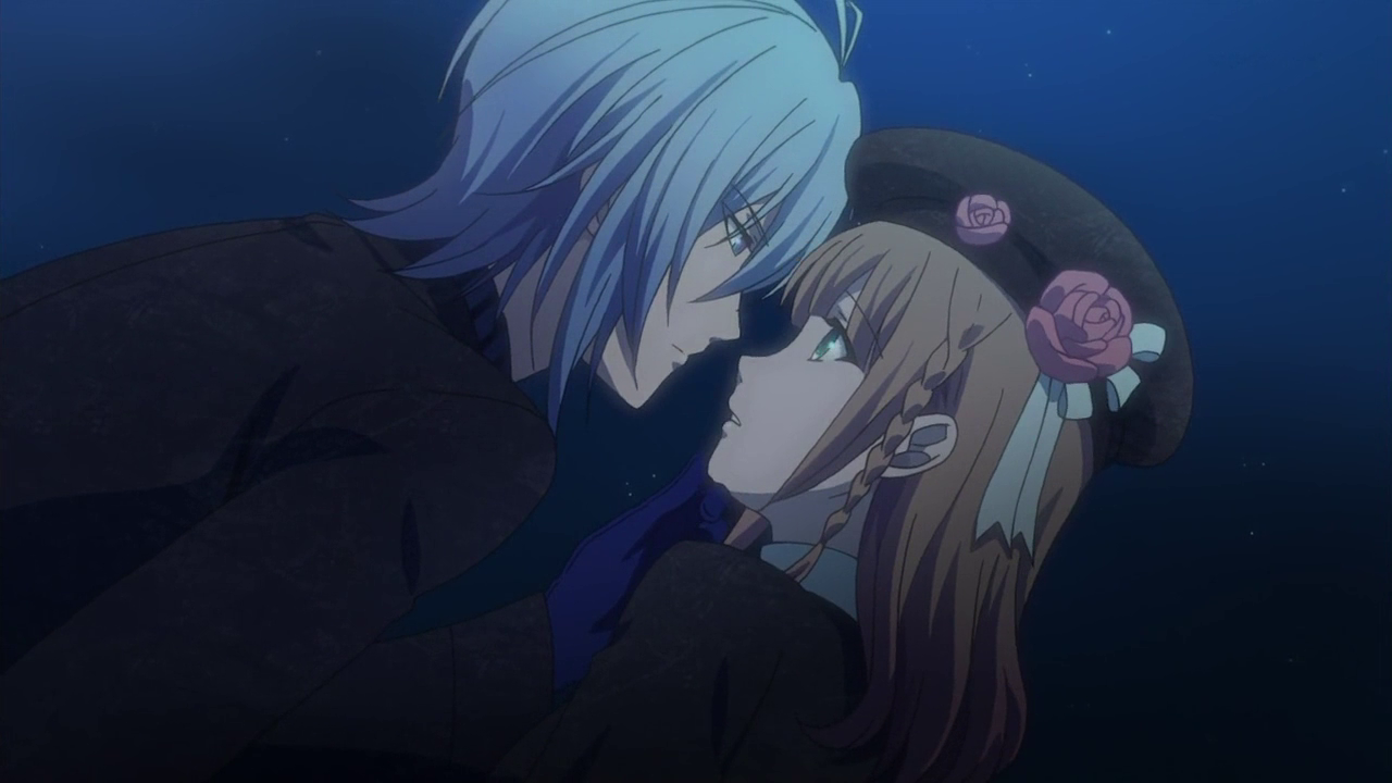 FileSpade Kissing The Rose   Amnesia Anime Kiss