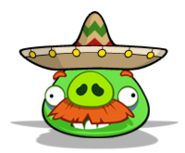 Mexican mustache pig by chinzapep-d55xevc