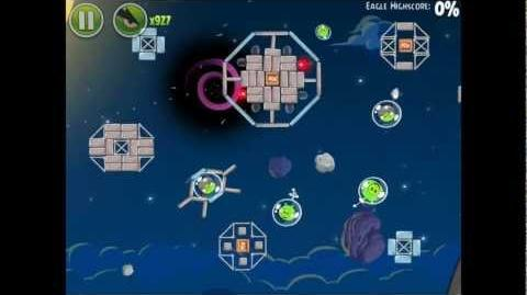 Angry Birds Space Pig Bang 1-17 Space Eagle Walkthrough