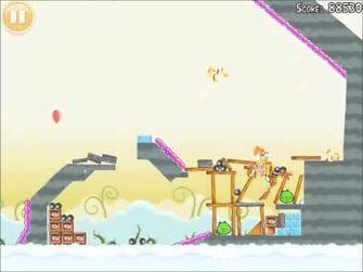 Official Angry Birds Walkthrough Danger Above 8-15