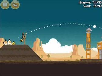 Official Angry Birds Walkthrough Ham 'Em High 14-15